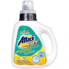 Attack, BioEX, концентрированный универсальный гель для стирки (бутылка 0,88 кг)